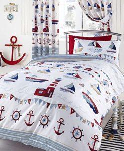 Nautical-SingleUS-Twin-Duvet-Pillowcase-Set-White-0-247x300 The Ultimate Guide to Nautical Bedding Sets