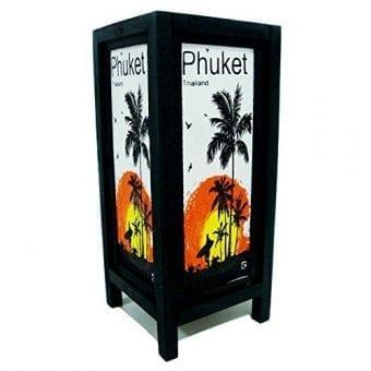 Phuket-Island-Sun-Beach-Coconut-Handmade-Asian-Oriental-Wood-Table-Bedside-Light-Night-Lamp-Gift-Bedroom-Garden-Shade-Frame-Free-Adapter-a-Us-2-Pin-Plug-426-0-3