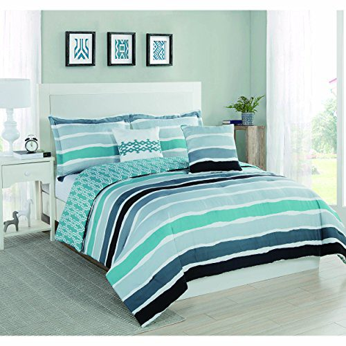 Studio-17-Tie-Dye-Stripe-King-5-Piece-Comforter-Set-0 Hawaii Themed Bedding Sets