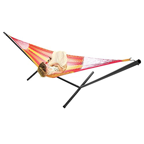 Sunnydaze-Tequila-Colored-Mayan-Hammock-Multiple-Sizes-Available-0 Best Outdoor Patio Furniture
