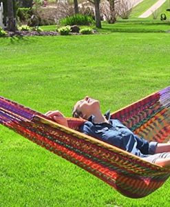 Sunnydaze-XXL-Thick-Cord-Mayan-Hammock-Multiple-Options-Available-0-247x300 The Best Outdoor Hammock Options You Can Buy