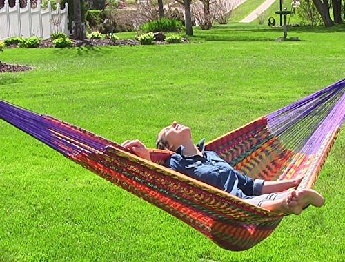 Sunnydaze-XXL-Thick-Cord-Mayan-Hammock-Multiple-Options-Available-0 The Best Outdoor Hammock Options You Can Buy