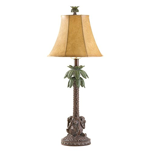 VERDUGO-GIFT-36001-Monkeys-Palm-Tree-Table-Lamp-0