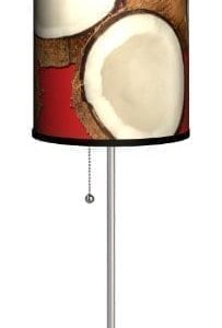Various-Coconuts-Sport-Silver-Lamp-0-203x300 The Best Coconut Table Lamps You Can Buy