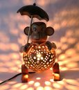 Wood-Monkey-Table-Lamp-for-Decor-Environment-Friendly-Handmade-Coconut-Shell-Living-Room-Animal-Kids-Decoration-0-5