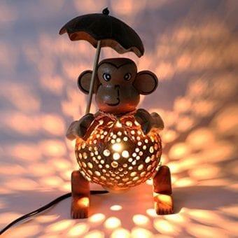 Wood-Monkey-Table-Lamp-for-Decor-Environment-Friendly-Handmade-Coconut-Shell-Living-Room-Animal-Kids-Decoration-0-5
