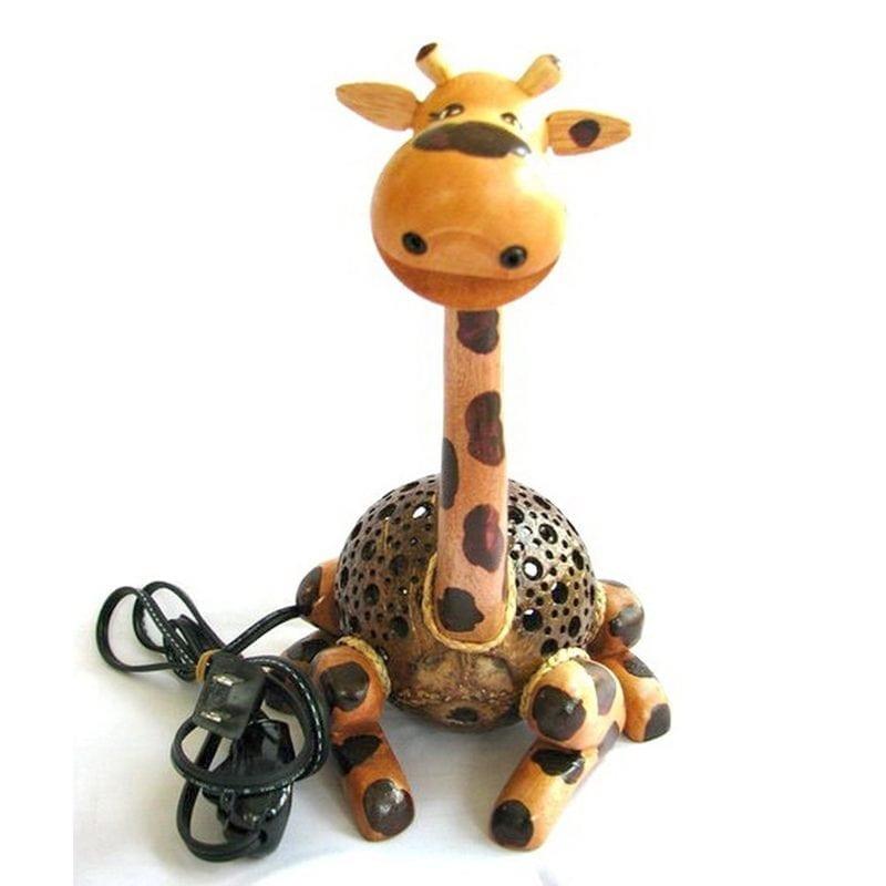 coconut-shell-giraffe-lamp-800x800 Best Coconut Lamps For Sale