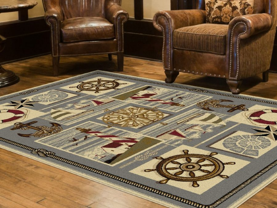 nautical-area-rug-1 The Ultimate Guide to Nautical Themed Area Rugs
