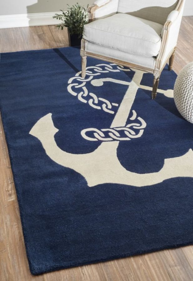 nautical-area-rug-3 The Ultimate Guide to Nautical Themed Area Rugs