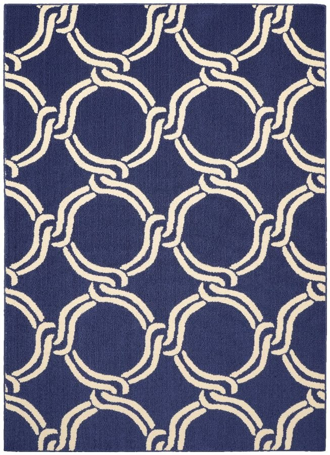Nautical Trellis Area Rug