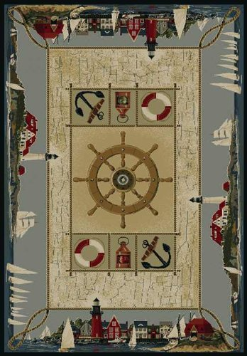 nautical-area-rug-9 The Ultimate Guide to Nautical Themed Area Rugs