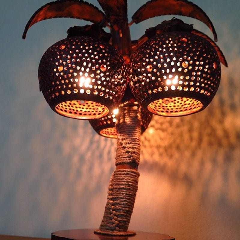 Best Coconut Lamps For Sale Beachfront Decor
