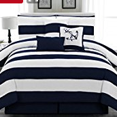 1-nautical-striped-set The Ultimate Guide to Nautical Bedding Sets