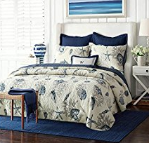 14-navy-shells The Ultimate Guide to Nautical Bedding Sets