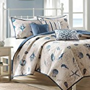 2-starfish-quilt The Ultimate Guide to Nautical Bedding Sets