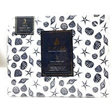 Envogue-Nautical-Collection-100-Cotton-Sheet-Set The Best Nautical Quilts and Nautical Bedding Sets