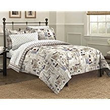 Free-Spirit-Cape-Cod-Seaside-Sailing-Nautical-Bedding-Comforter-Set The Best Nautical Quilts and Nautical Bedding Sets