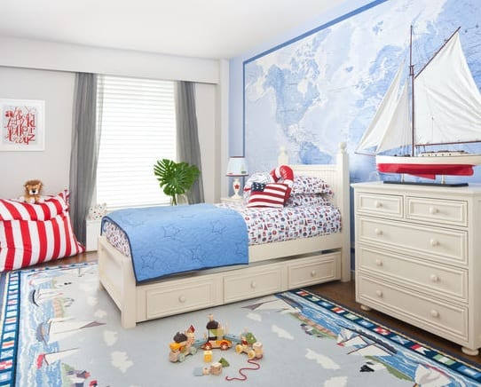 Soho-Residence-by-Gloss-NY The Best Nautical Quilts and Nautical Bedding Sets