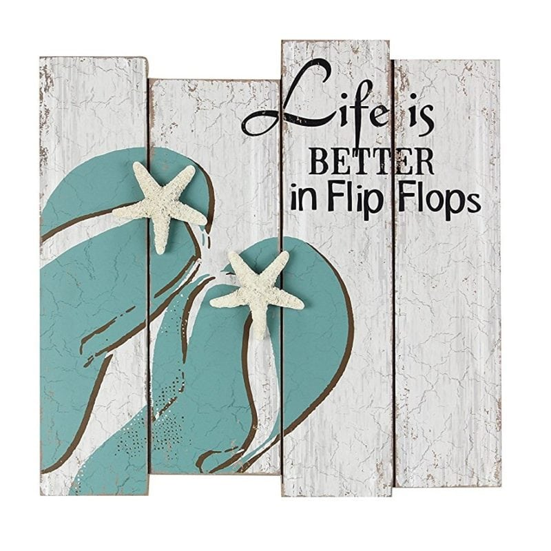 life-is-better-in-flip-flops-wood-wall-sign-800x800 Best Flip Flop Decor
