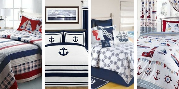 Best Nautical Quilts and Nautical Bedding Sets - Beachfront Decor