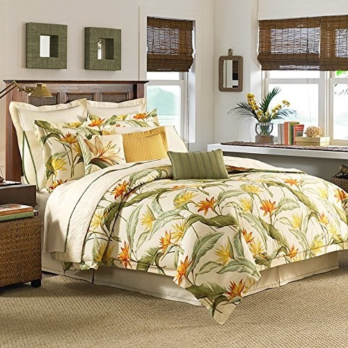 tommy-bahama-birds-of-paradise-comforter-set Best Tropical Bedding Sets