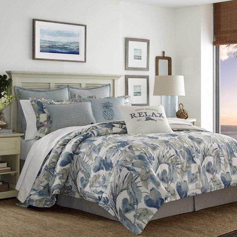 tommy-bahama-raw-coast-comforter-set-800x800 Best Tropical Bedding Sets