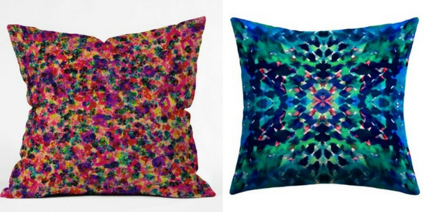 amy sia accent pillows
