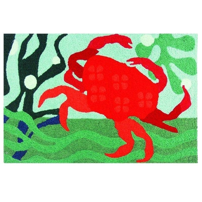 jellybean-red-crab-rug-800x800 Beach Themed Jellybean Area Rugs