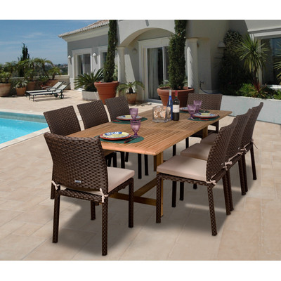 1-outdoor-teak-furniture-set 20 Of Our Favorite Outdoor Teak Furniture Sets