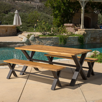 10-outdoor-teak-furniture-set 20 Of Our Favorite Outdoor Teak Furniture Sets