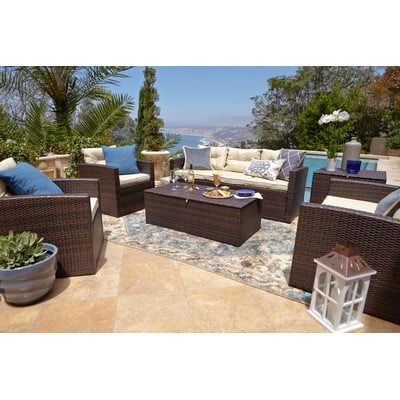 10-outdoor-wicker-furniture-sets 20 Of Our Favorite Outdoor Wicker Furniture Sets