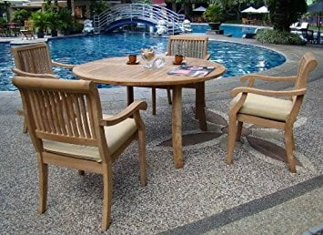 13-outdoor-teak-furniture-set 20 Of Our Favorite Outdoor Teak Furniture Sets