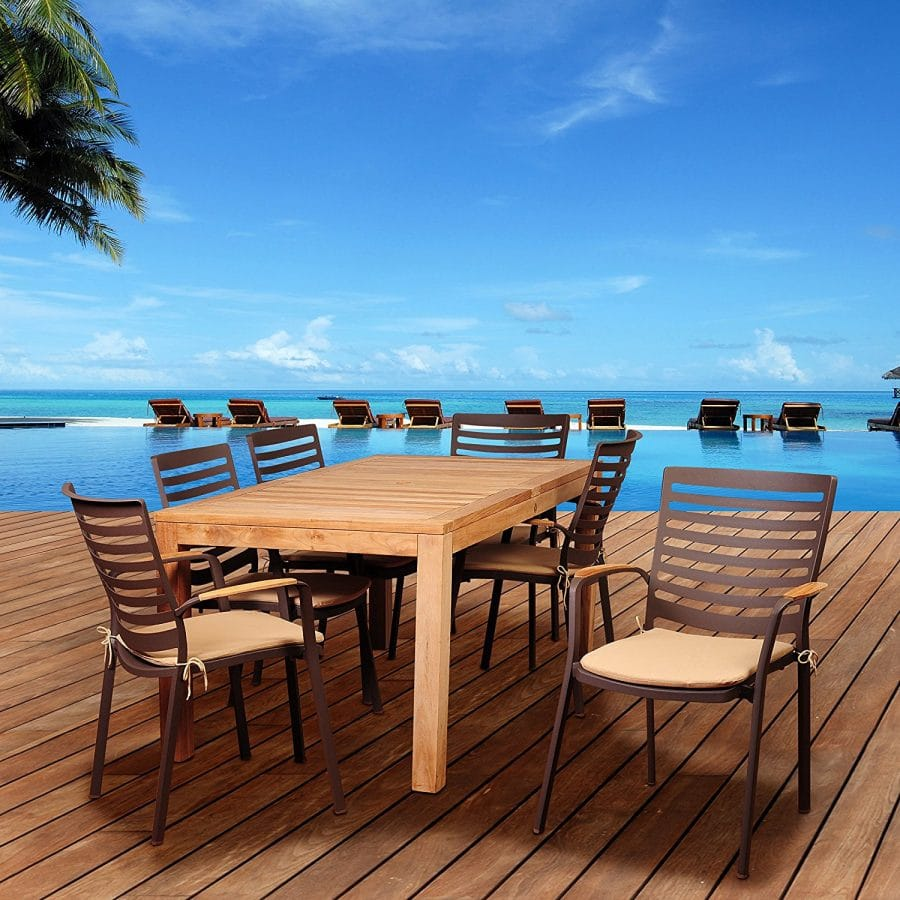 16-outdoor-teak-furniture-set 20 Of Our Favorite Outdoor Teak Furniture Sets