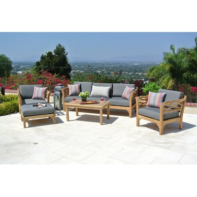 4-outdoor-teak-furniture-set 20 Of Our Favorite Outdoor Teak Furniture Sets