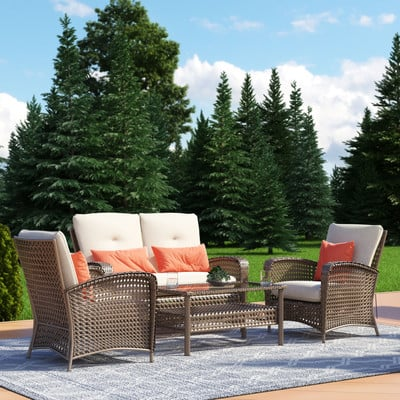 8-outdoor-wicker-furniture-sets 20 Of Our Favorite Outdoor Wicker Furniture Sets