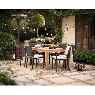 9-outdoor-teak-furniture-set The Ultimate Guide to Outdoor Patio Furniture