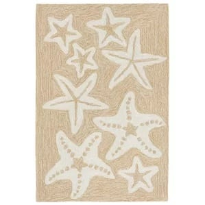 Claycomb-Starfish-Hand-Tufted-Natural-Area-Rug-39 Starfish Rugs and Area Rugs