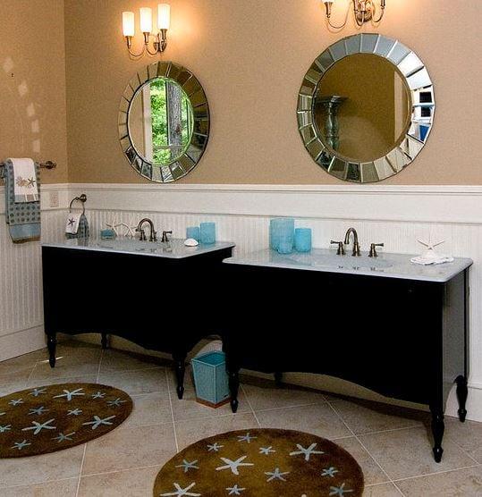 Coastal-Retreat-Master-Bath-by-Southern-Studio-Interior-Design Starfish Rugs and Area Rugs