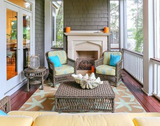 Kiawah-Beach-House-for-GDC-by-Matthew-Bolt-Graphic-Design Starfish Rugs and Area Rugs