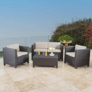 Mercury-Row-Kappa-4-Piece-Wicker-Seating-Cushion-Set-5-6 Best Wicker Patio Furniture Sets