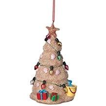 Sand-Beach-Christmas-Tree-Hanging-Resin-Christmas-Ornament Beach Christmas Ornaments and Nautical Christmas Ornaments