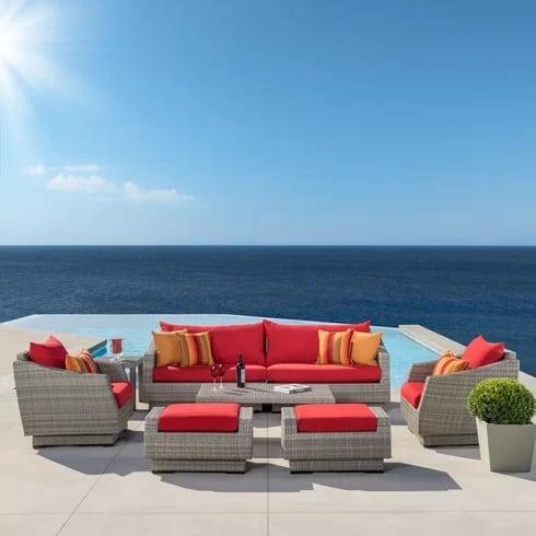 Wade-Logan-Alfonso-8-Piece-Wicker-Seating-Set-20 Best Wicker Patio Furniture Sets