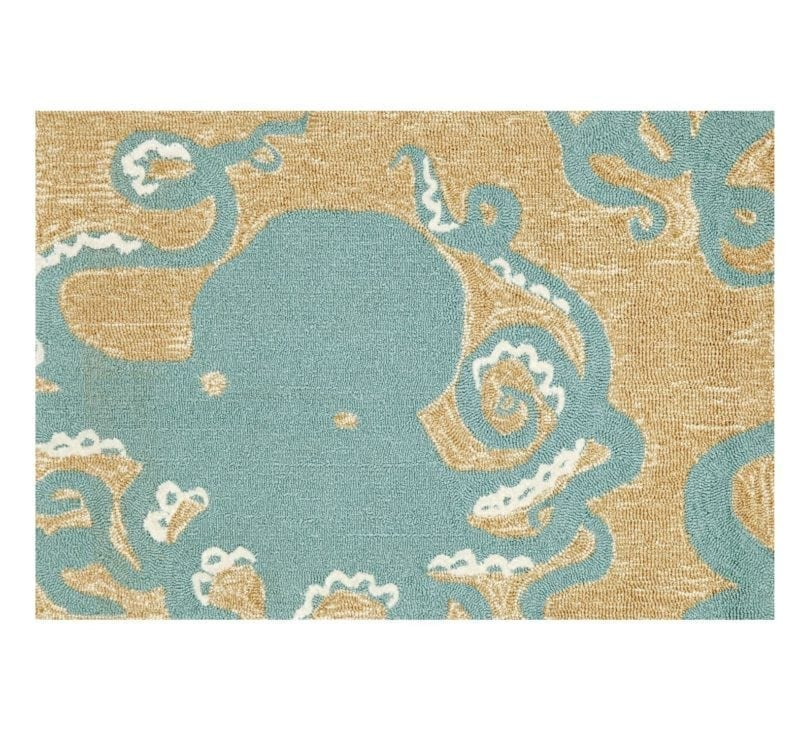 aqua-liora-manne-octopus-area-rug-800x737 Best Octopus Area Rugs
