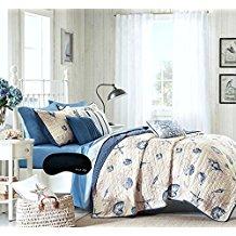 beach-theme-starfish-quilt Best Starfish Bedding and Quilt Sets