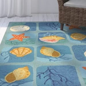 coeymans-shell-starfish-indoor-outdoor-area-rug-45-561 Starfish Rugs and Area Rugs