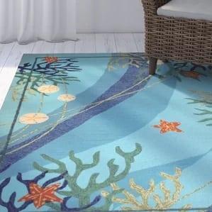 coeymans-underwater-blue-coral-starfish-rug-41-553 Starfish Rugs and Area Rugs