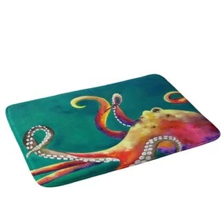 east-urban-octopus-bath-rug-green Best Octopus Area Rugs