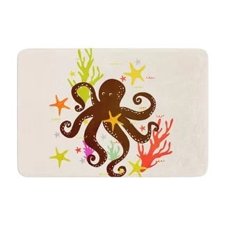 east-urban-octopus-memory-foam-bath-rug Best Octopus Area Rugs