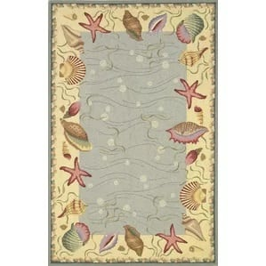 livia-ocean-surprise-novelty-rug-36-463 Starfish Rugs and Area Rugs