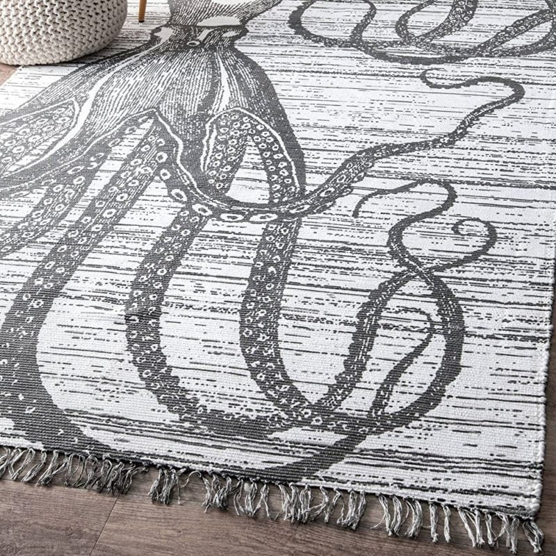myung-octopus-tassel-rug-800x800 Best Octopus Area Rugs